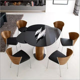 Dining Room,Furniture,Brands - Calligaris Odyssey Extending Dining Table