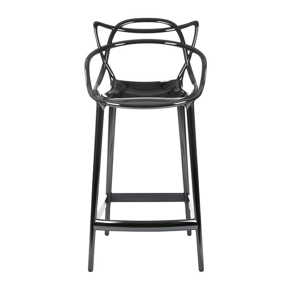 Kartell Masters Stool  Medium / Titanium: www.decorelo.co.uk