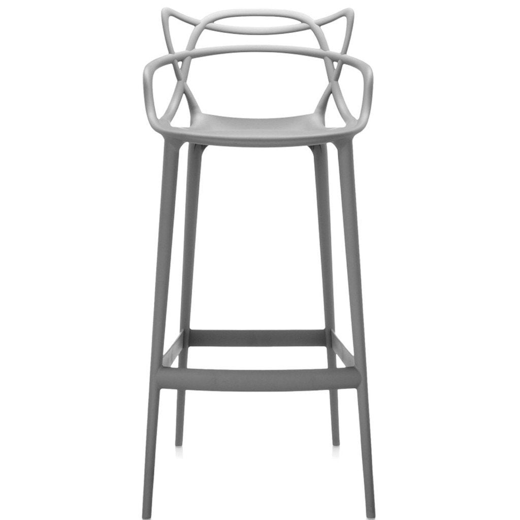 Kartell Masters Stool  Large / Grey: www.decorelo.co.uk