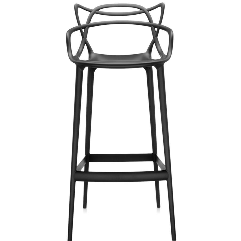 Kartell Masters Stool  Large / Black: www.decorelo.co.uk