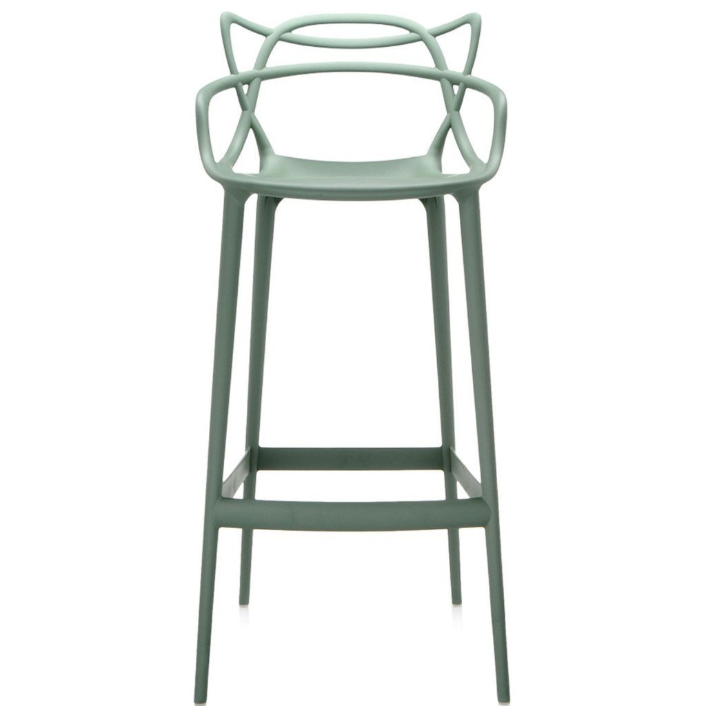 Kartell Masters Stool  Large / Green: www.decorelo.co.uk