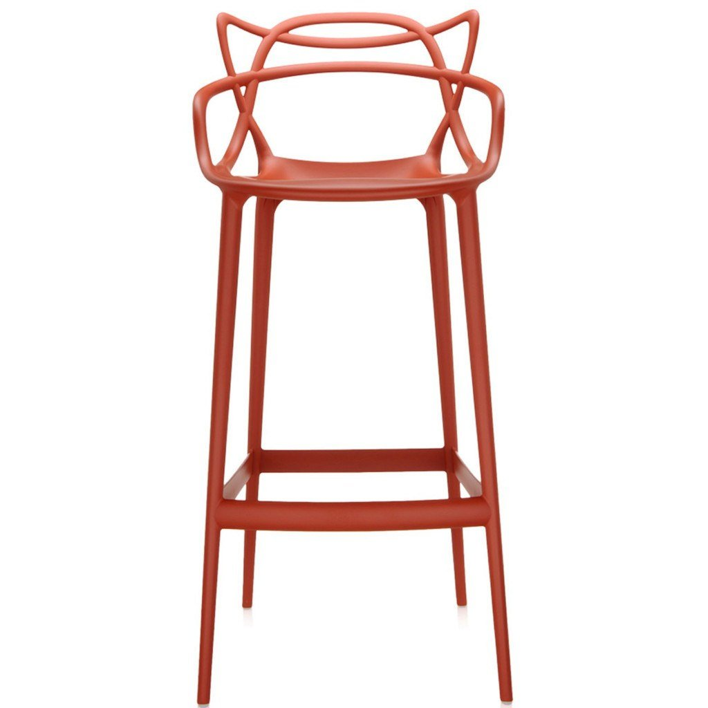 Kartell Masters Stool  Large / Orange - IN STOCK: www.decorelo.co.uk