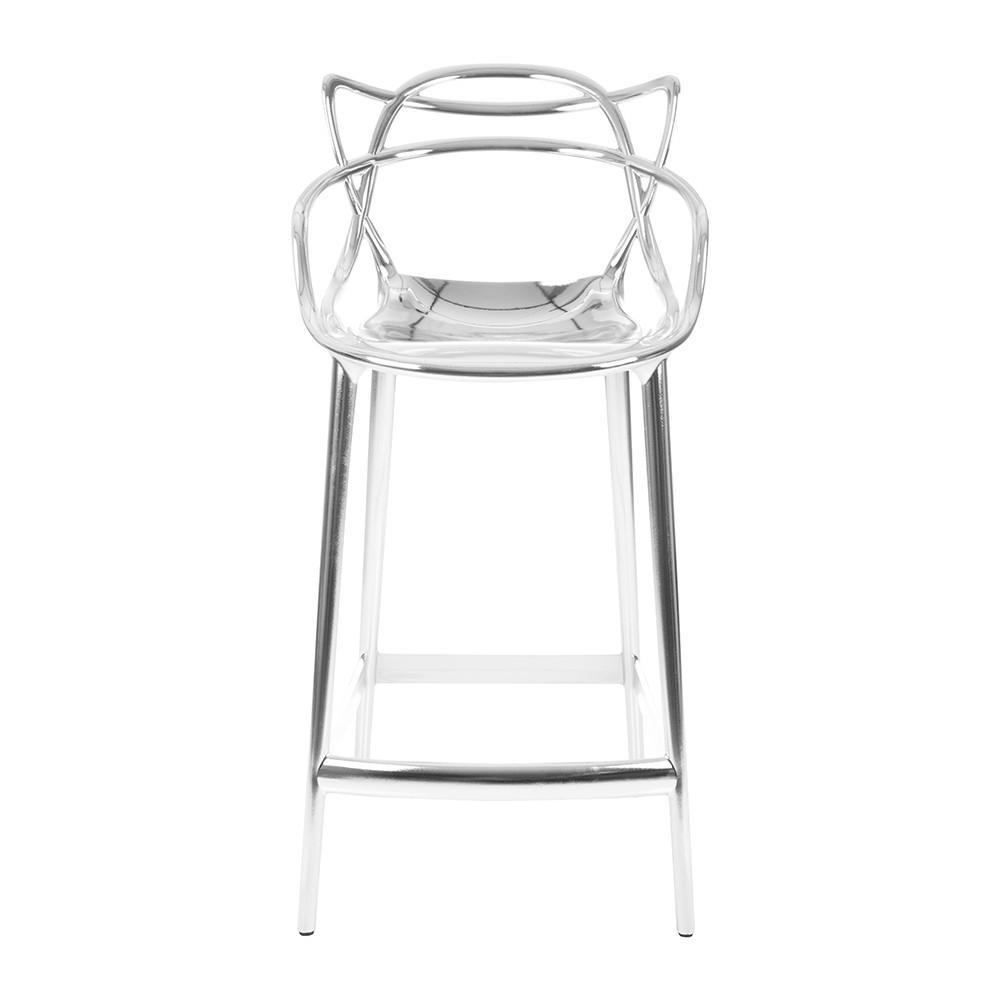 Kartell Masters Stool  Medium / Chrome: www.decorelo.co.uk