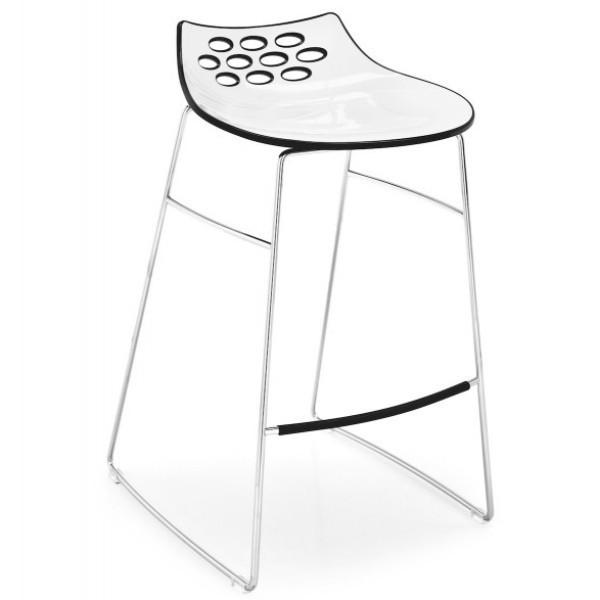 Dining Room,Kitchen,Furniture,Brands,Bestsellers - Calligaris Jam Sleigh Bar Stool