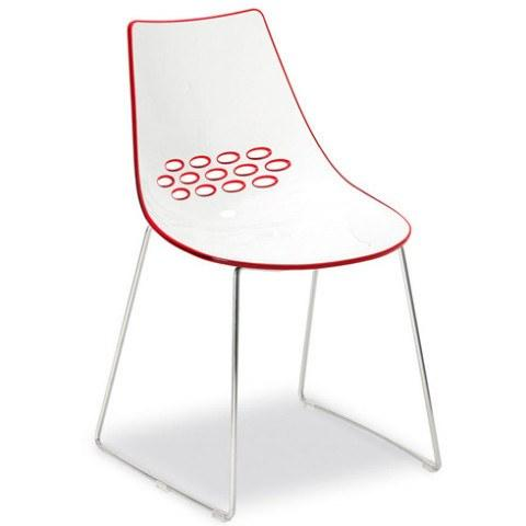 Calligaris Jam Chair with Sleigh Legs  : www.decorelo.co.uk