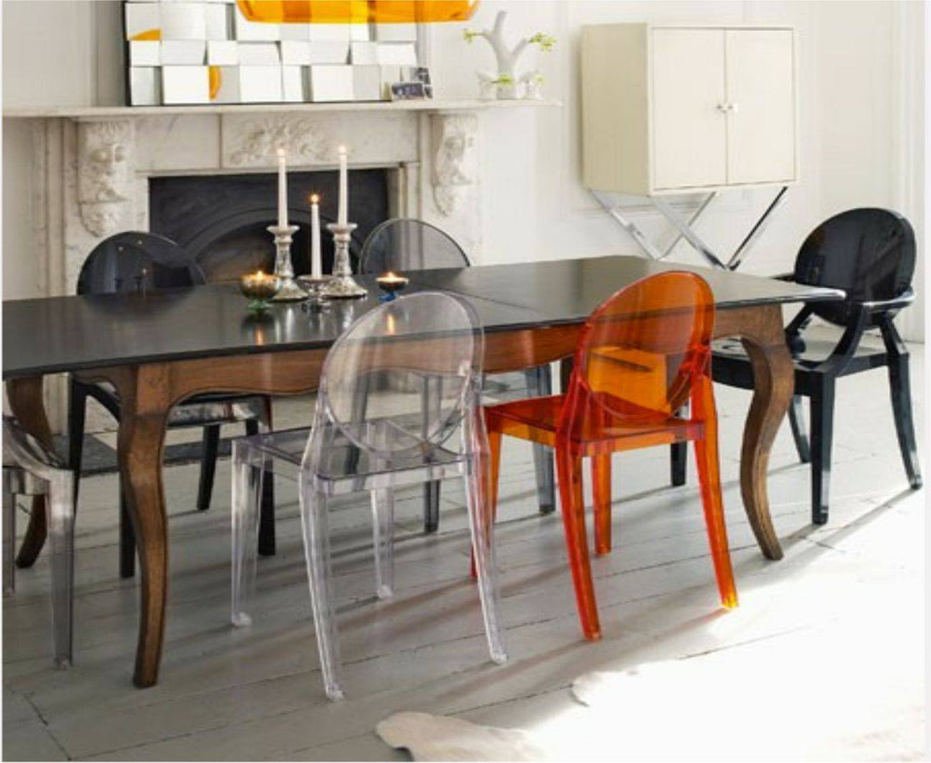 summer sale kartell victoria ghost chair £  design   -  furniturebrandsgardendesigners  kartell victoria ghost chair byphilippe starck