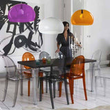 Furniture,Brands,Garden,Designers - Kartell Victoria Ghost Chair By Philippe Starck
