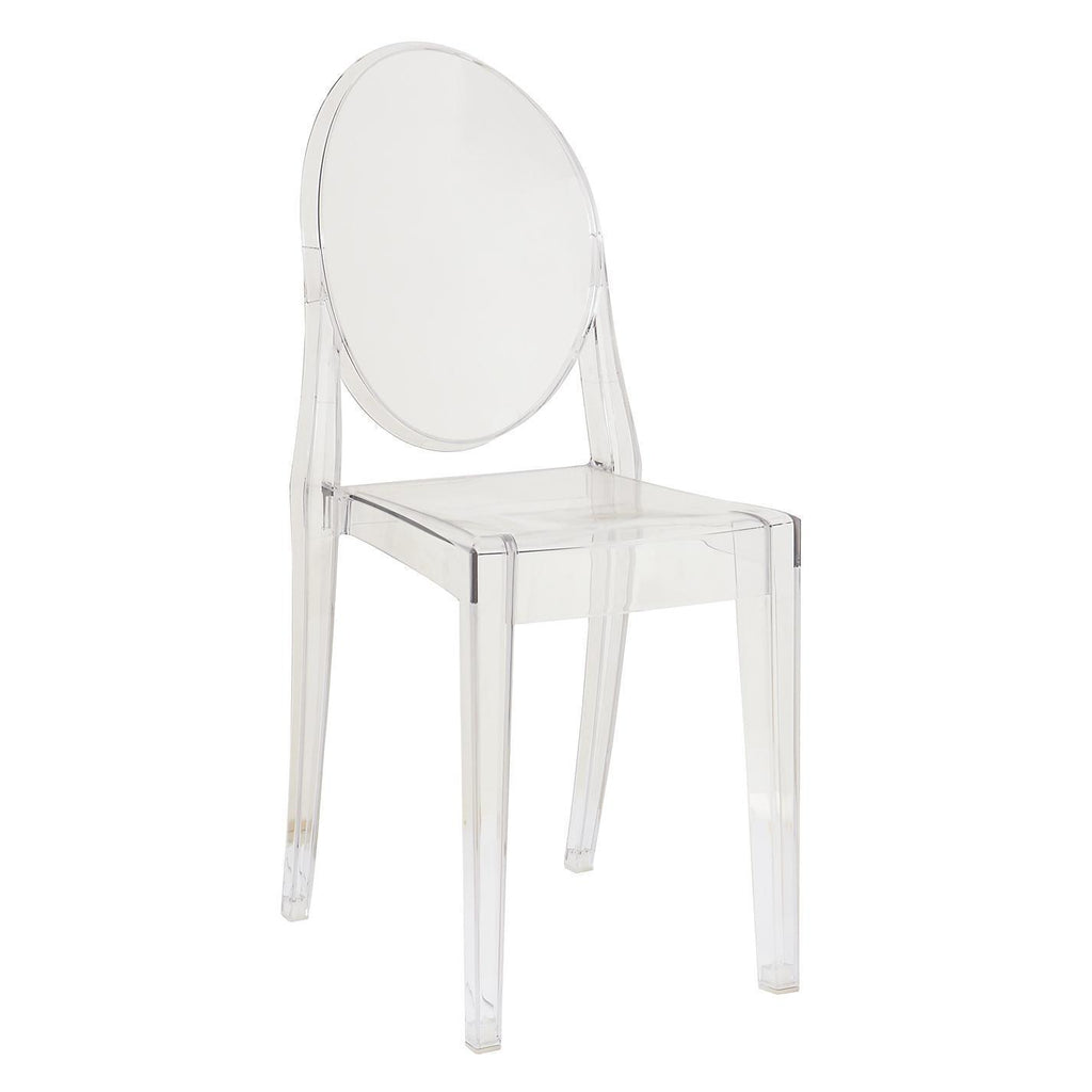 Kartell Victoria Ghost Chair by Philippe Starck  Crystal Clear - IN STOCK: www.decorelo.co.uk