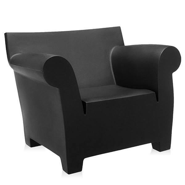 Kartell Bubble Club Chair  Black: www.decorelo.co.uk