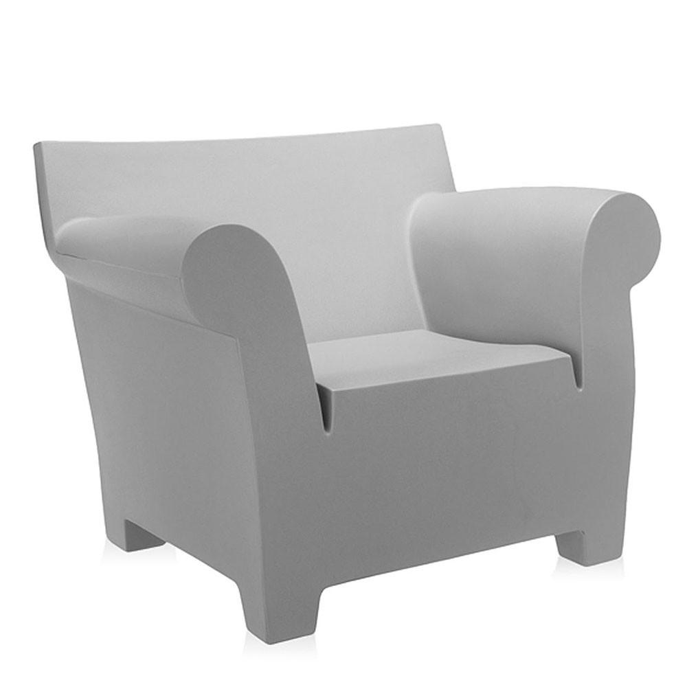 Kartell Bubble Club Chair  Light Grey: www.decorelo.co.uk