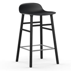 Normann Copenhagen Form Barstool  65cm / Black / Black: www.decorelo.co.uk