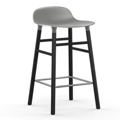 Normann Copenhagen Form Barstool  65cm / Black / Grey: www.decorelo.co.uk