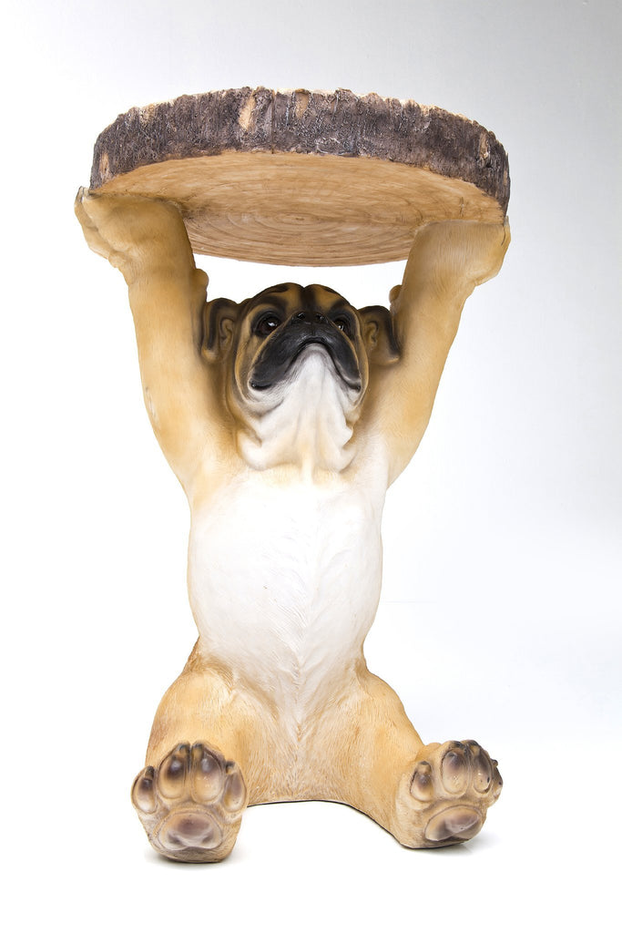 Mops Pug Dog Side Table  : www.decorelo.co.uk