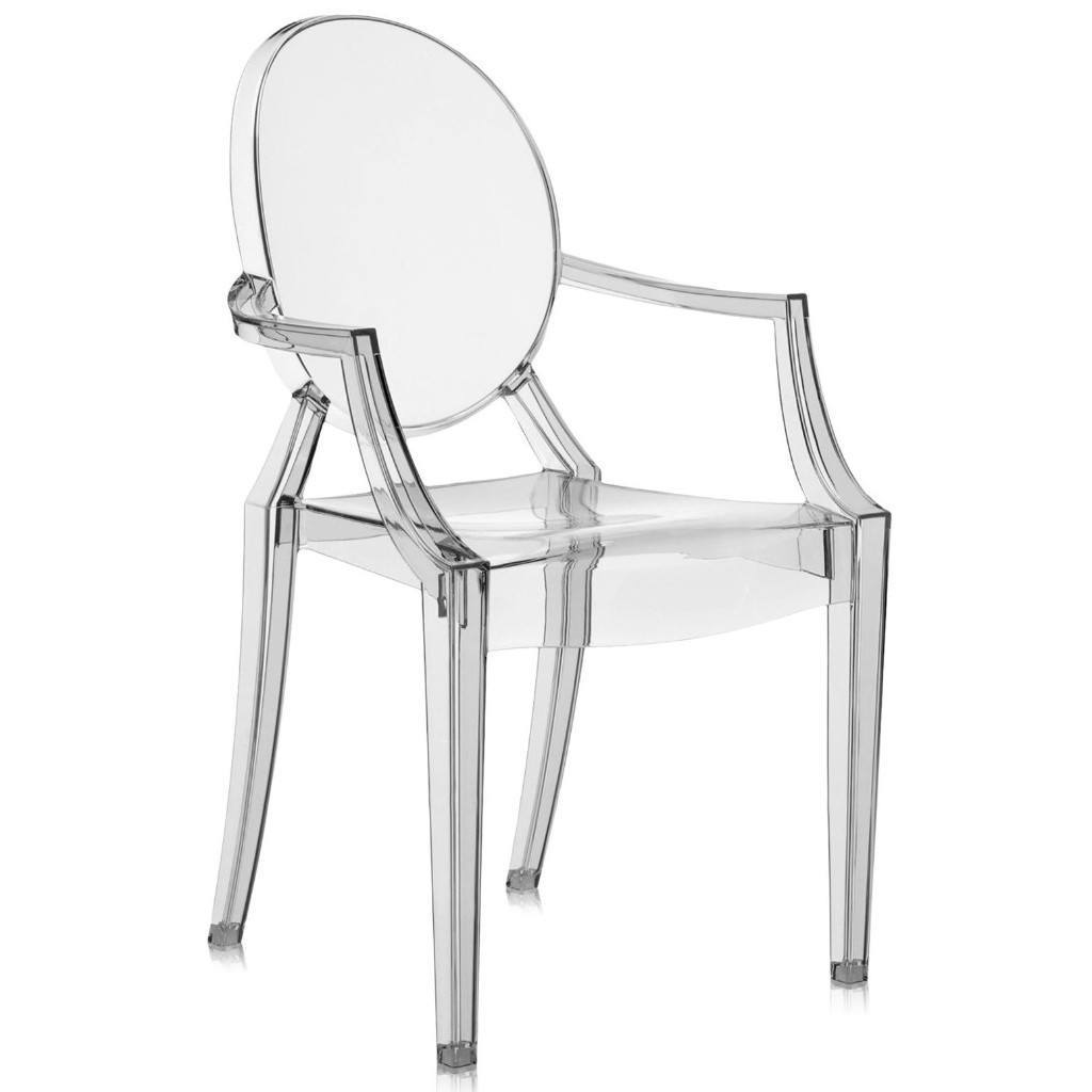 Kartell Louis Ghost Chair by Philippe Starck colour Smoke Grey: www.decorelo.co.uk