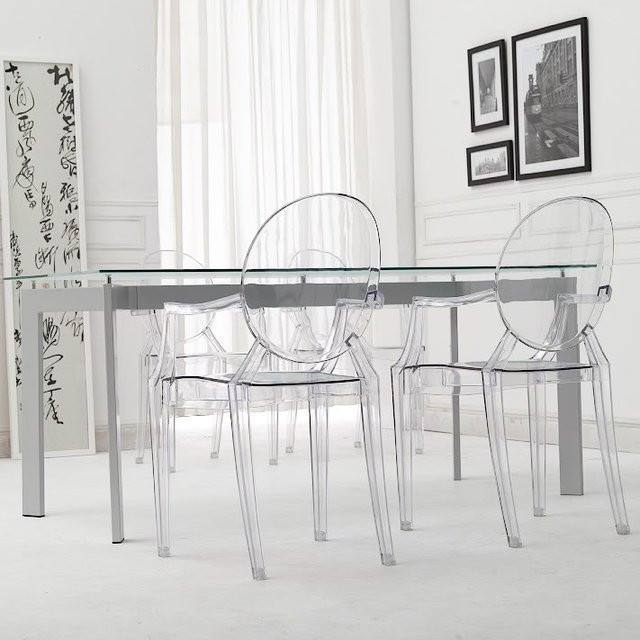 Kartell Louis Ghost Chair by Philippe Starck  : www.decorelo.co.uk