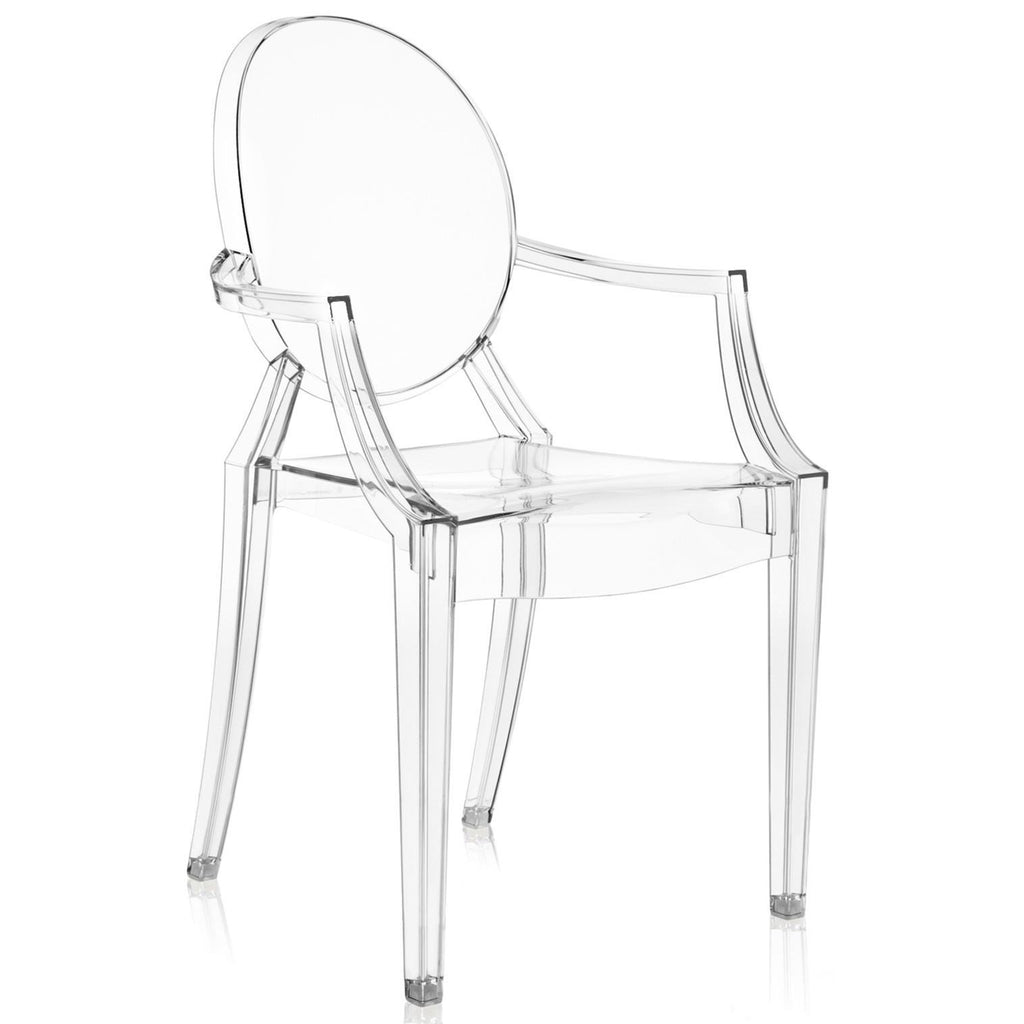 Kartell Louis Ghost Chair by Philippe Starck  Crystal Clear - IN STOCK: www.decorelo.co.uk