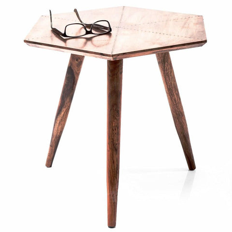 Kare Blowfield Copper Side Table