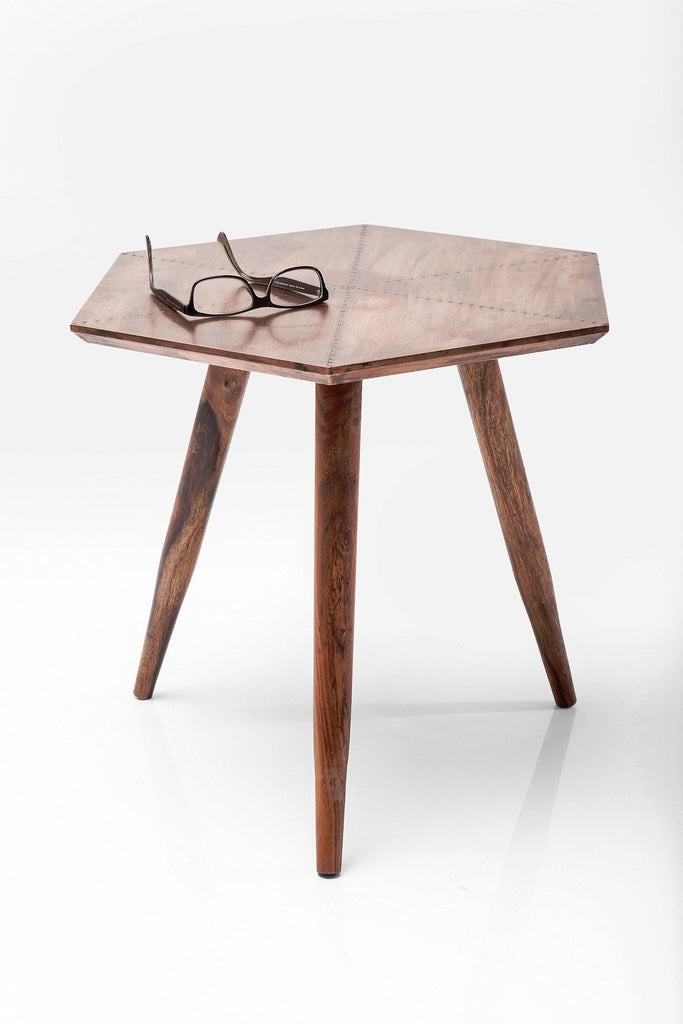 Furniture,Latest Trends,Brands - Geometric Industrial Copper Side Table