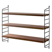 String Pocket Shelving Burgundy