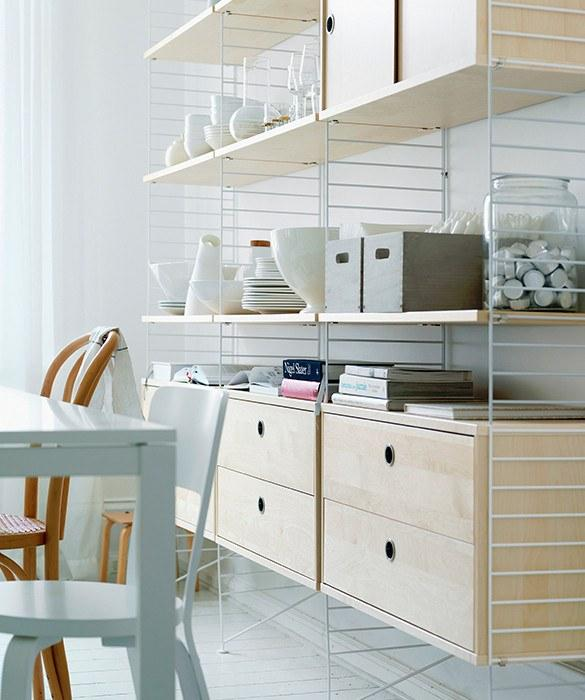 Furniture,Latest Trends,Brands - String Shelving - Wall Panels