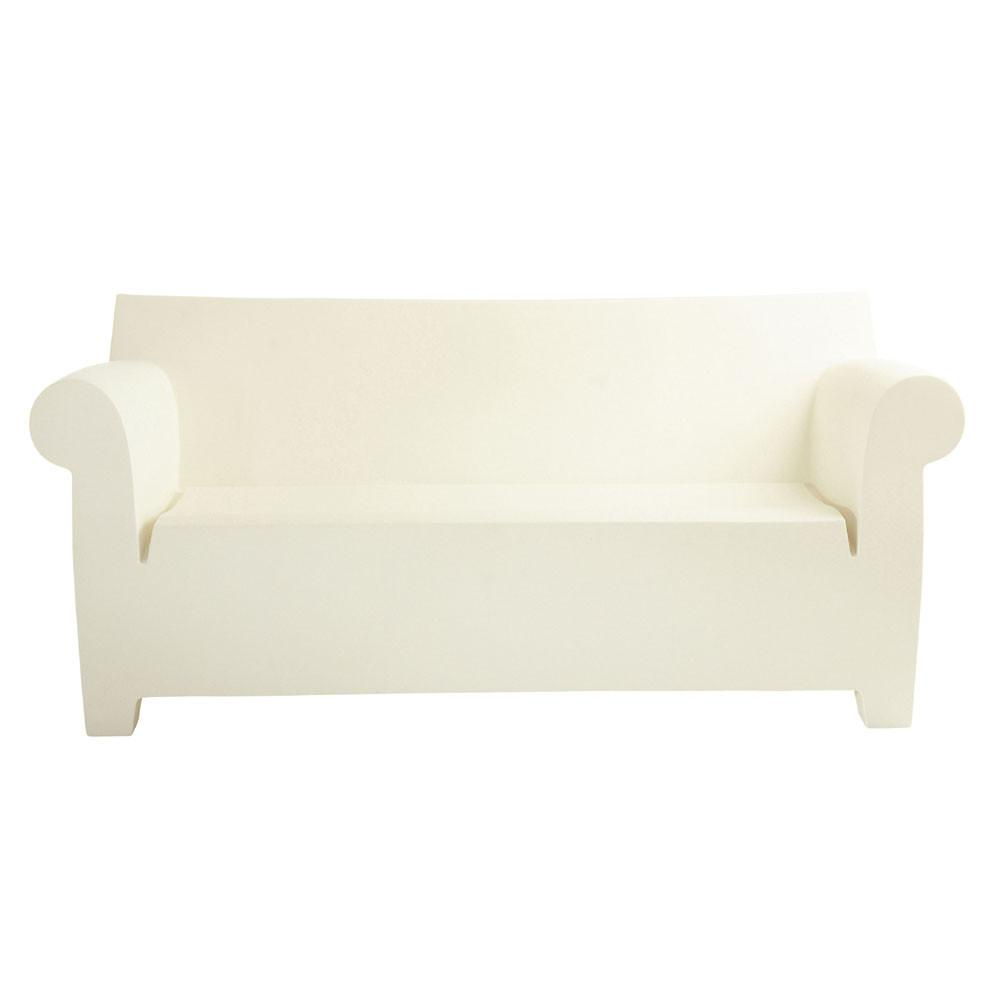 Kartell Bubble Club Sofa  Zinc White: www.decorelo.co.uk
