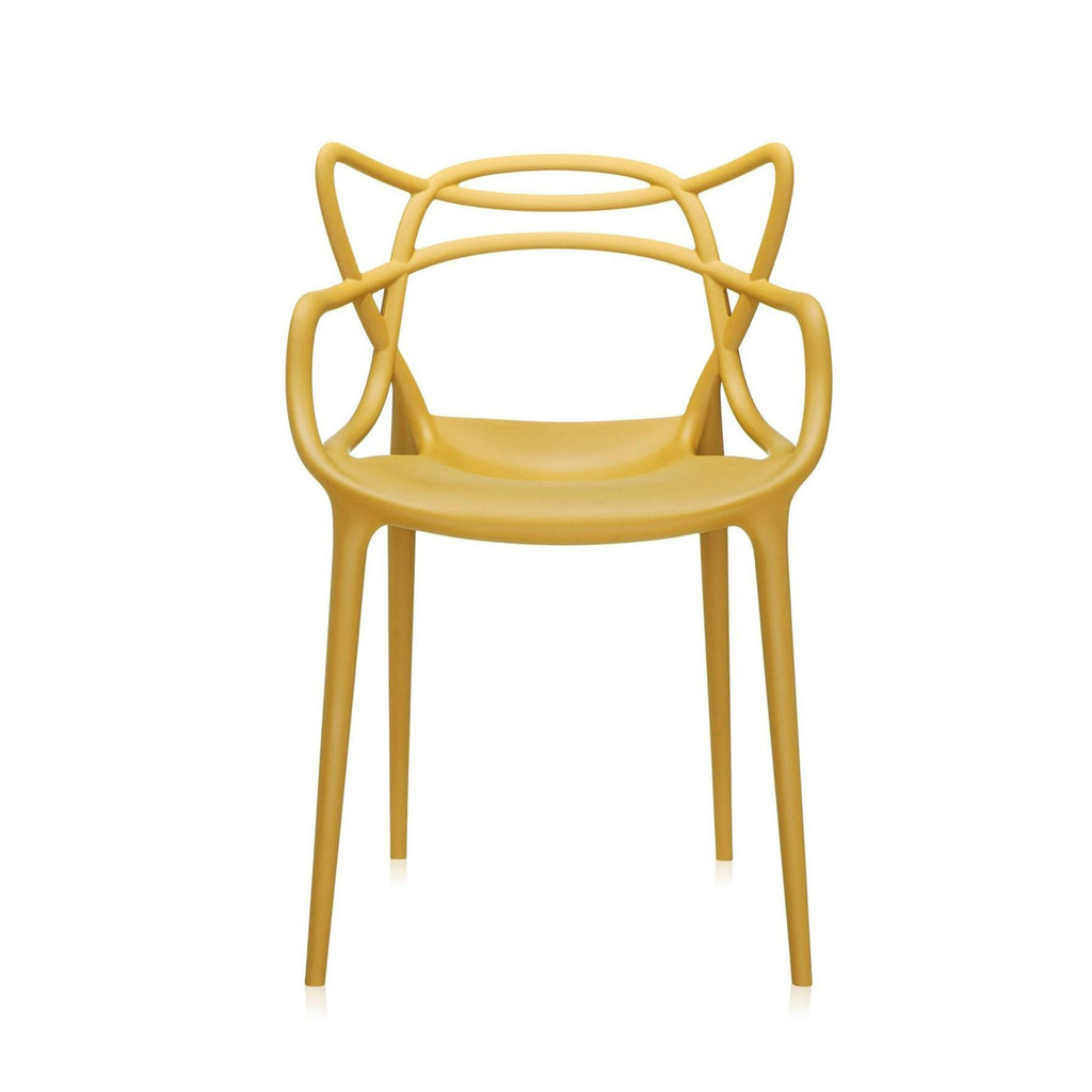 Kartell Masters Chair  Mustard Yellow - IN STOCK: www.decorelo.co.uk