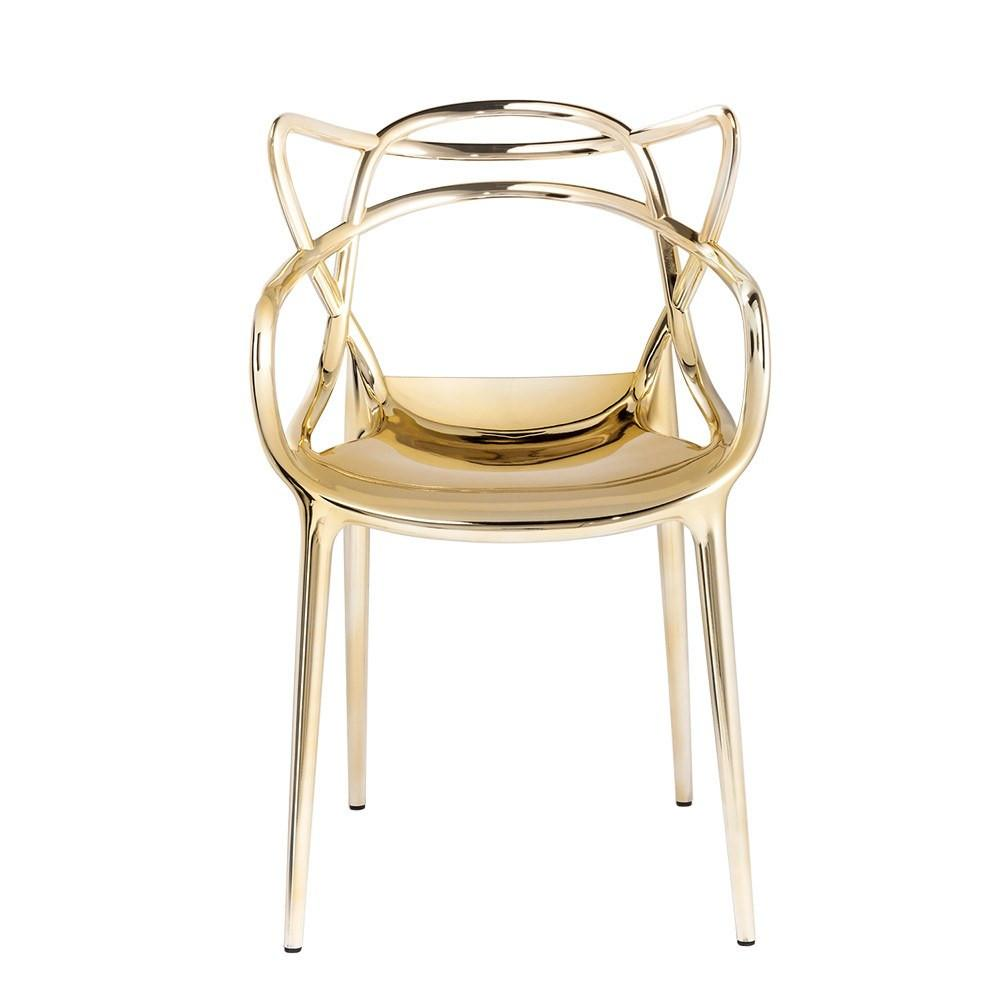 Kartell Masters Chair  Gold: www.decorelo.co.uk
