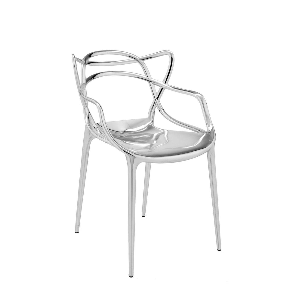 Kartell Masters Chair  Chrome: www.decorelo.co.uk