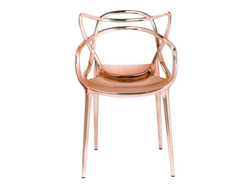 Kartell Masters Chair  Copper: www.decorelo.co.uk