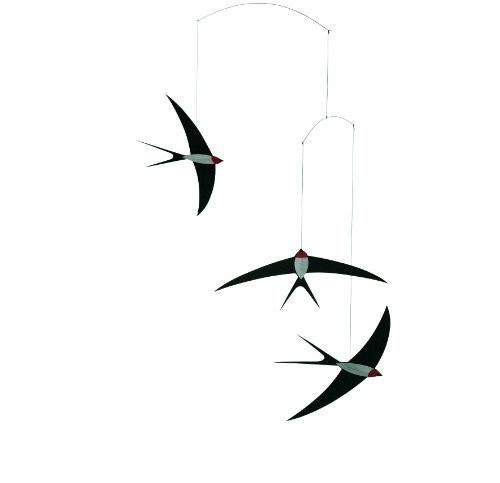 Gifts,Brands,Bestsellers - Swallow Nursery Mobile By Christian Flensted