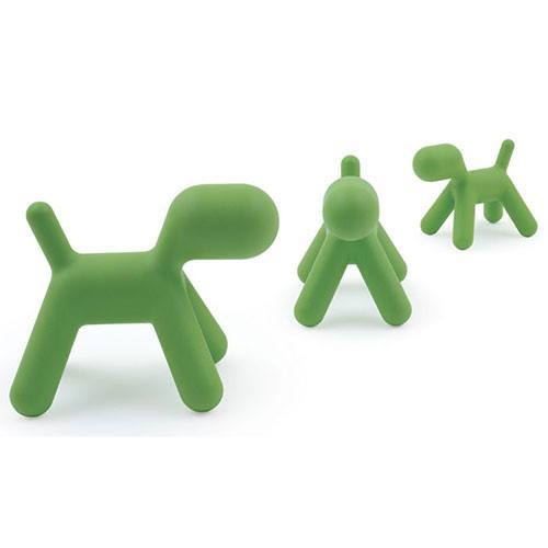 Magis Puppy Chair Green Magis dog chair  : www.decorelo.co.uk