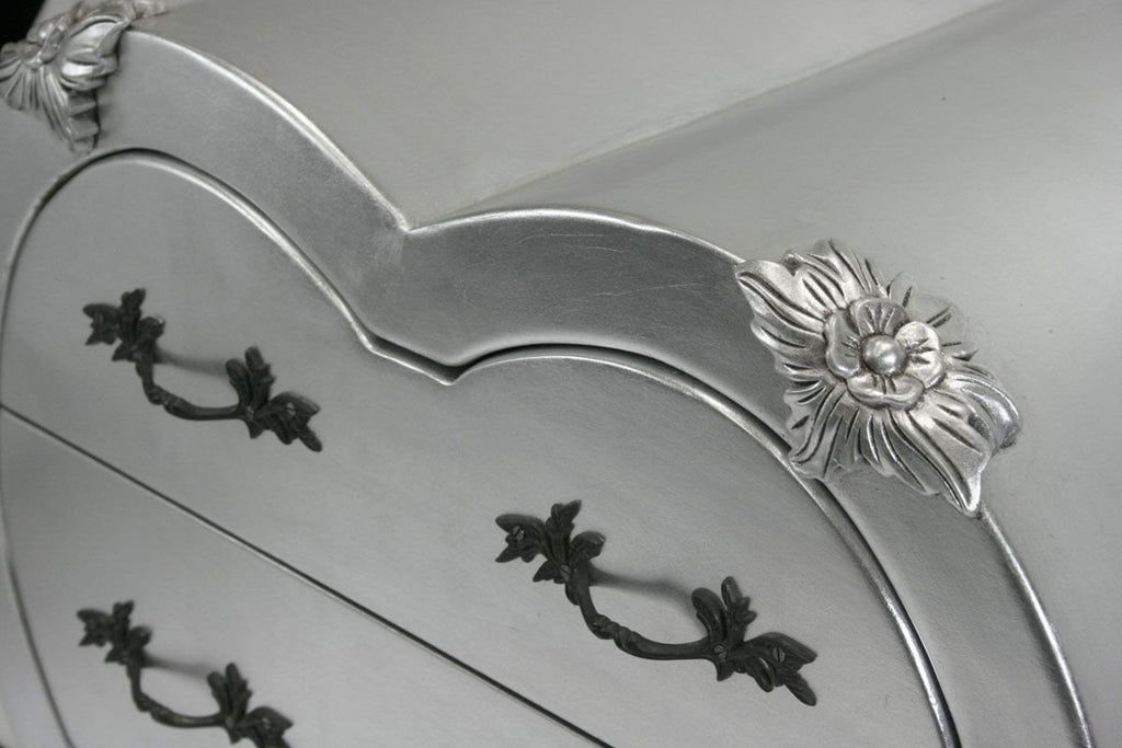 Gifts,Furniture,Sale - Shabby Chic Silver Love Heart Side Drawers