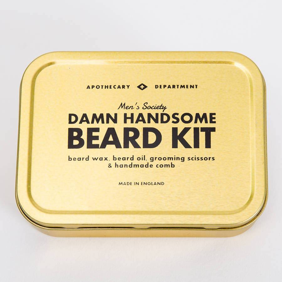 Gifts,Latest Trends - Men's Society Beard Grooming Kit