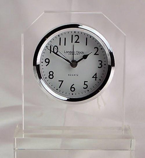 London Clock Silver Pendulum Clock 13cm  : www.decorelo.co.uk