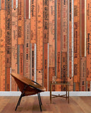 Home Accessories,Brands - NLXL Printed Rulers Wallpaper By Mr & Mrs Vintage