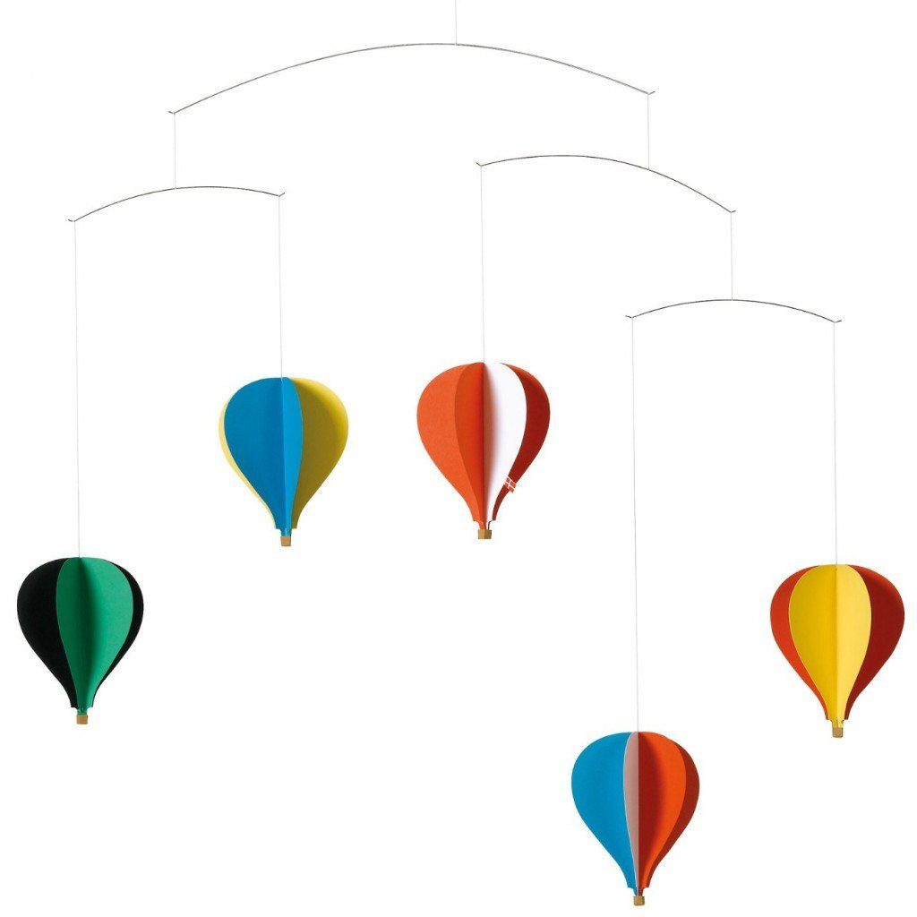 Home Accessories,Gifts,Brands,Bestsellers - Balloon 5 Hanging Nursery Mobile By Christian Flensted