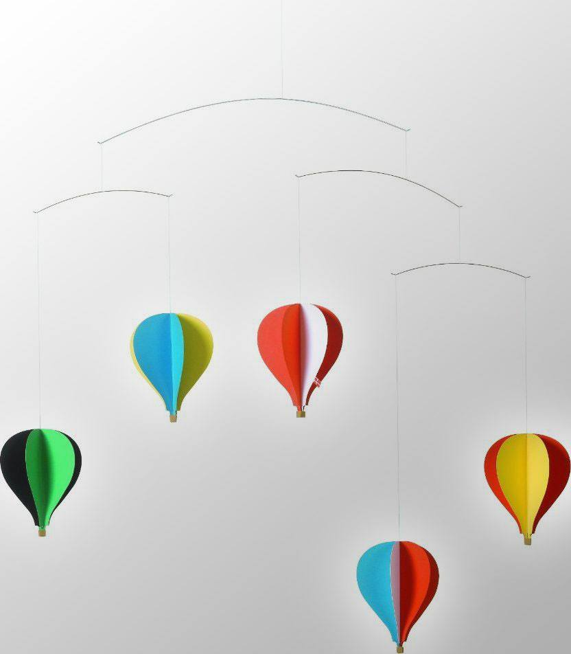 Balloon 5 Hanging Nursery Mobile by Christian Flensted  : www.decorelo.co.uk