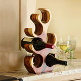 Home Accessories,Kitchen,Gifts - Wooden Tree Wine Rack