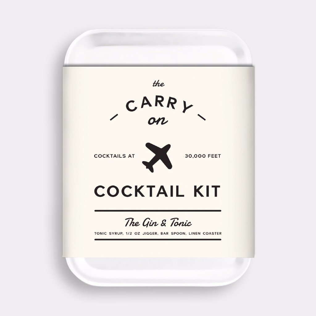 Kitchen,Sale,Gifts - Men's Society Carry On Cocktail Kit - Gin & Tonic