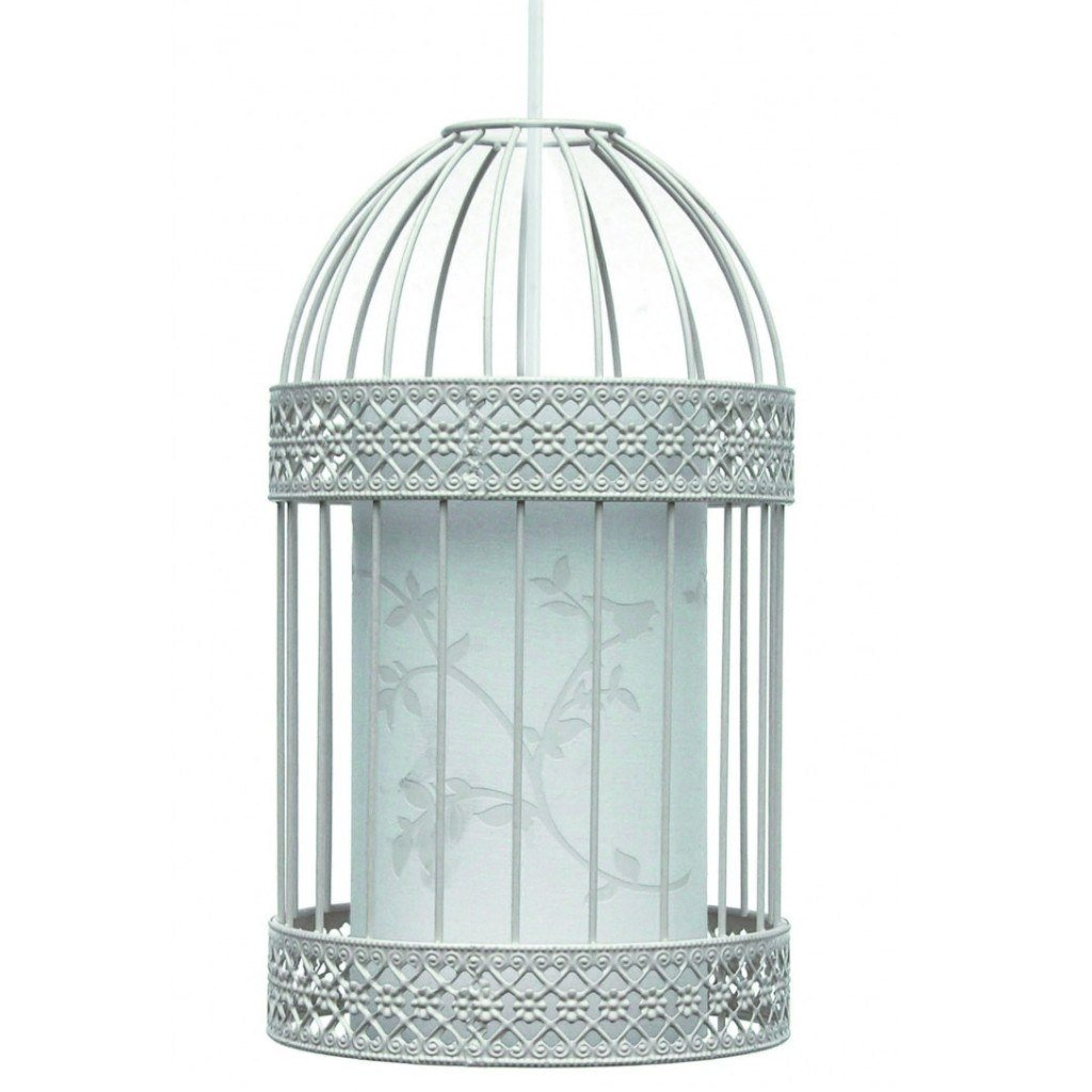 Lighting,Brands - Aimbry Isabella Bird Cage Ceiling Pendant