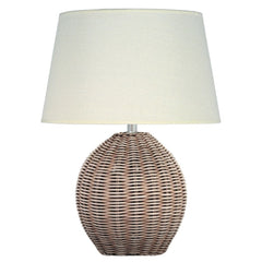 Aimbry Raffles Wicker Ball Lamp Small  : www.decorelo.co.uk