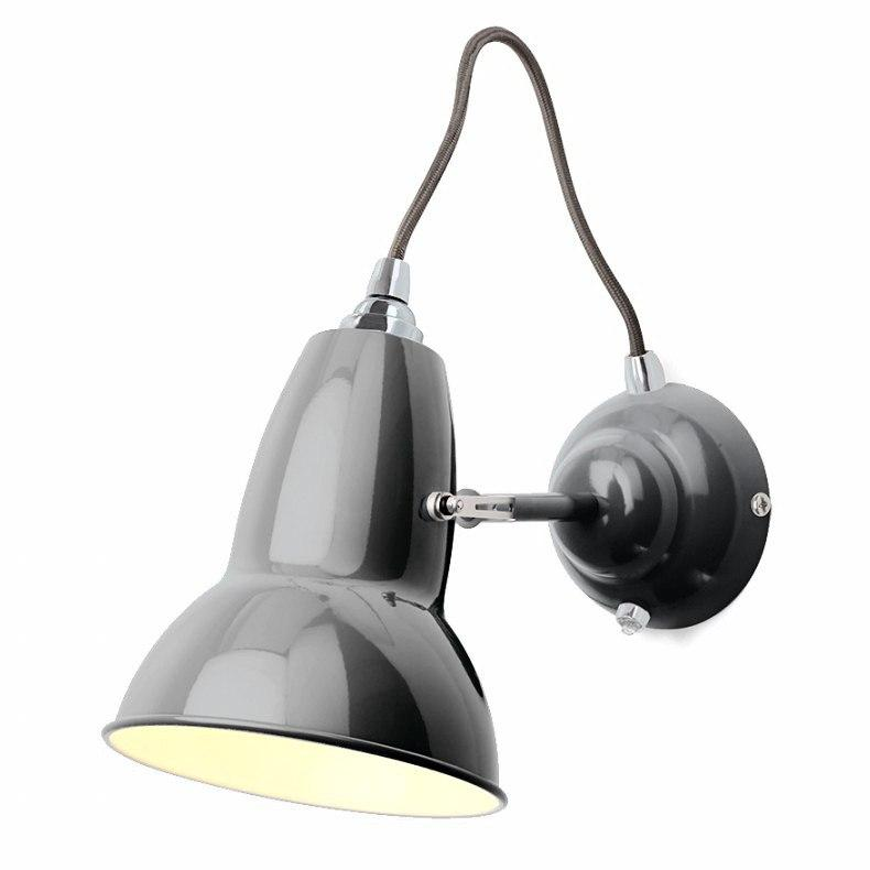 Anglepoise Original 1227 Wall Light  Dove Grey - Grey Cable: www.decorelo.co.uk