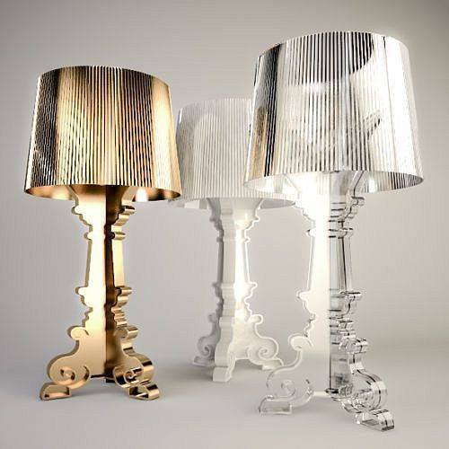Kartell Bourgie Table Lamp Sale  Ghost Lamp – www