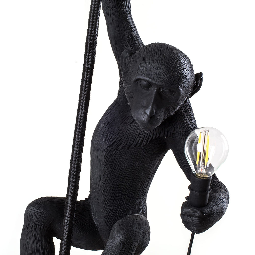 Seletti Monkey Ceiling Light Black  : www.decorelo.co.uk