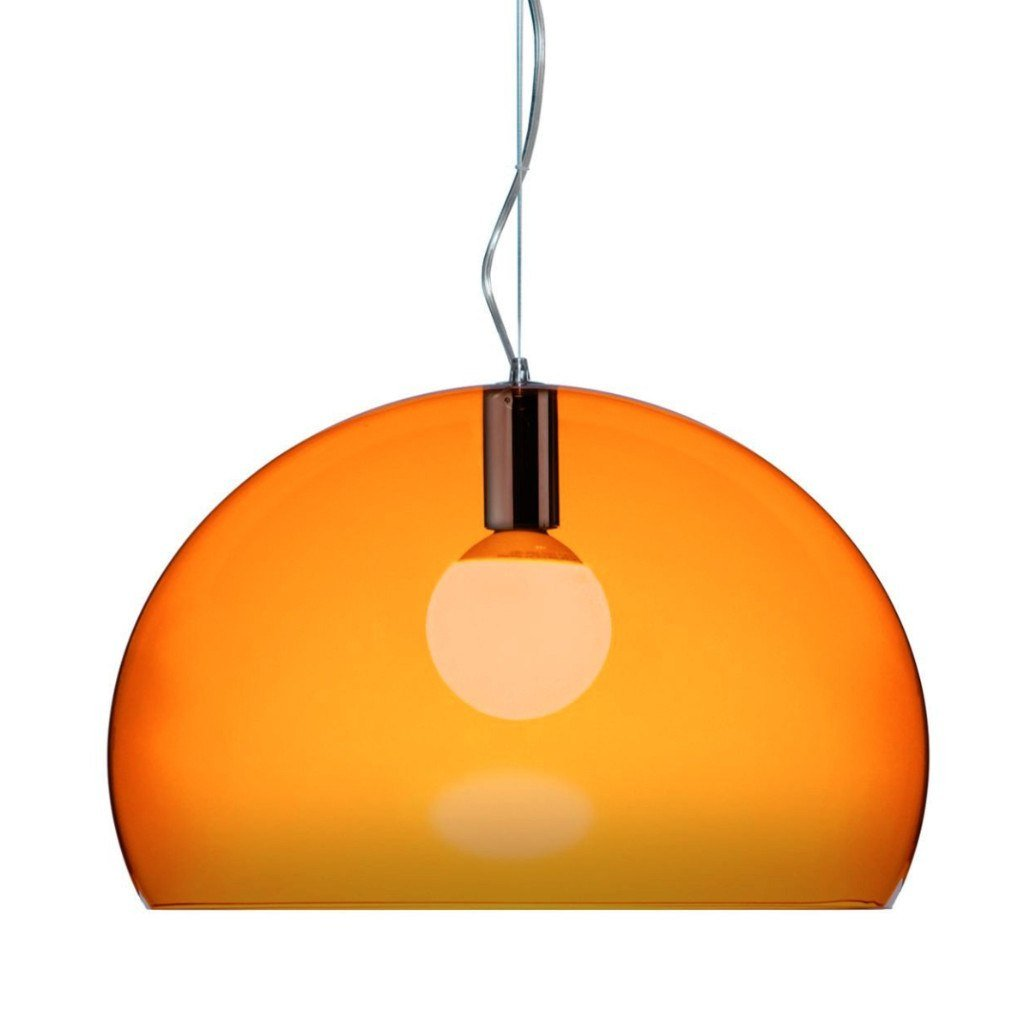 Lighting,Brands - Kartell Small Fly Suspension Light