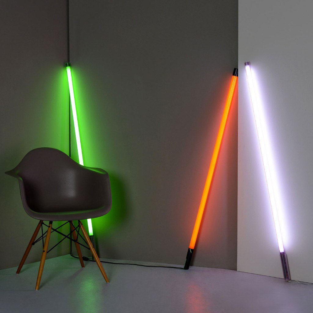 buy seletti linea neon tube light  decorelo – wwwdecorelocouk -  lightingbrandslatest trends  seletti linea neon tube light