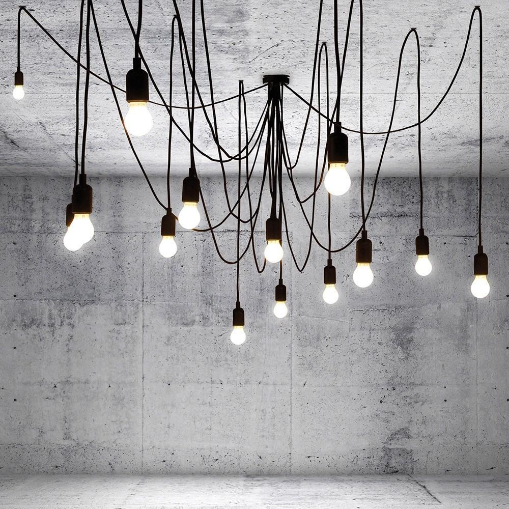 pendant gracefully fantastic swag style light multi industrial white