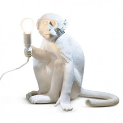 Seletti Monkey Sitting Down Floor Lamp  : www.decorelo.co.uk