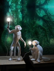 Seletti Monkey Standing Up Floor Lamp  : www.decorelo.co.uk