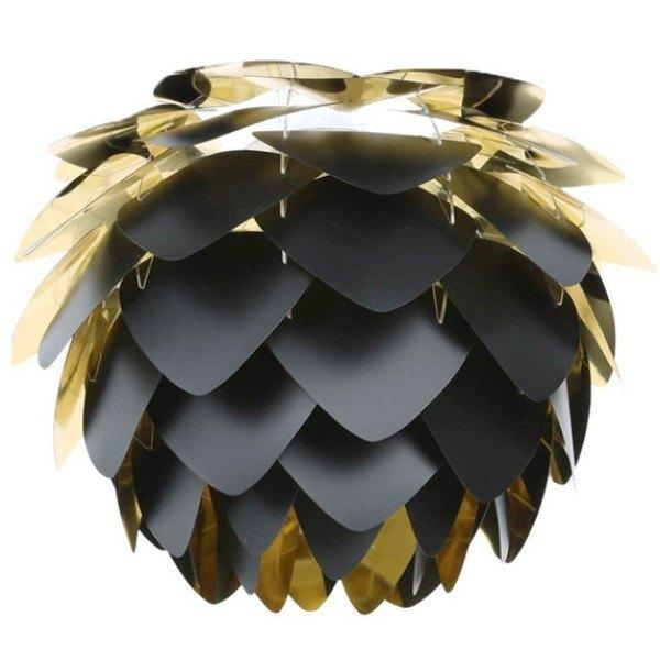 Lighting,Brands - Vita Living Silvia Pendant Black & Gold